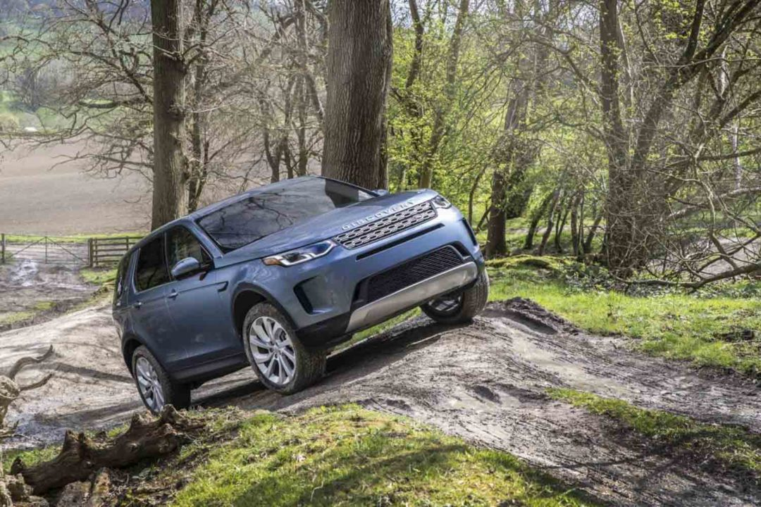 2020 Land Rover Discovery Sport facelift 1