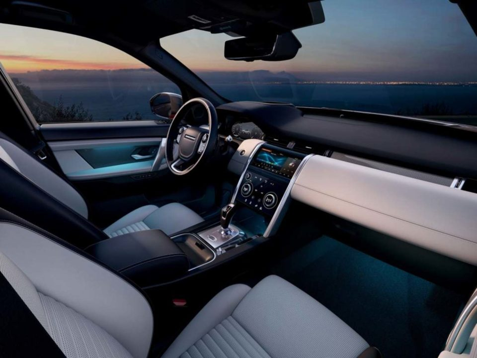2020 Land Rover Discovery Sport facelift Interior