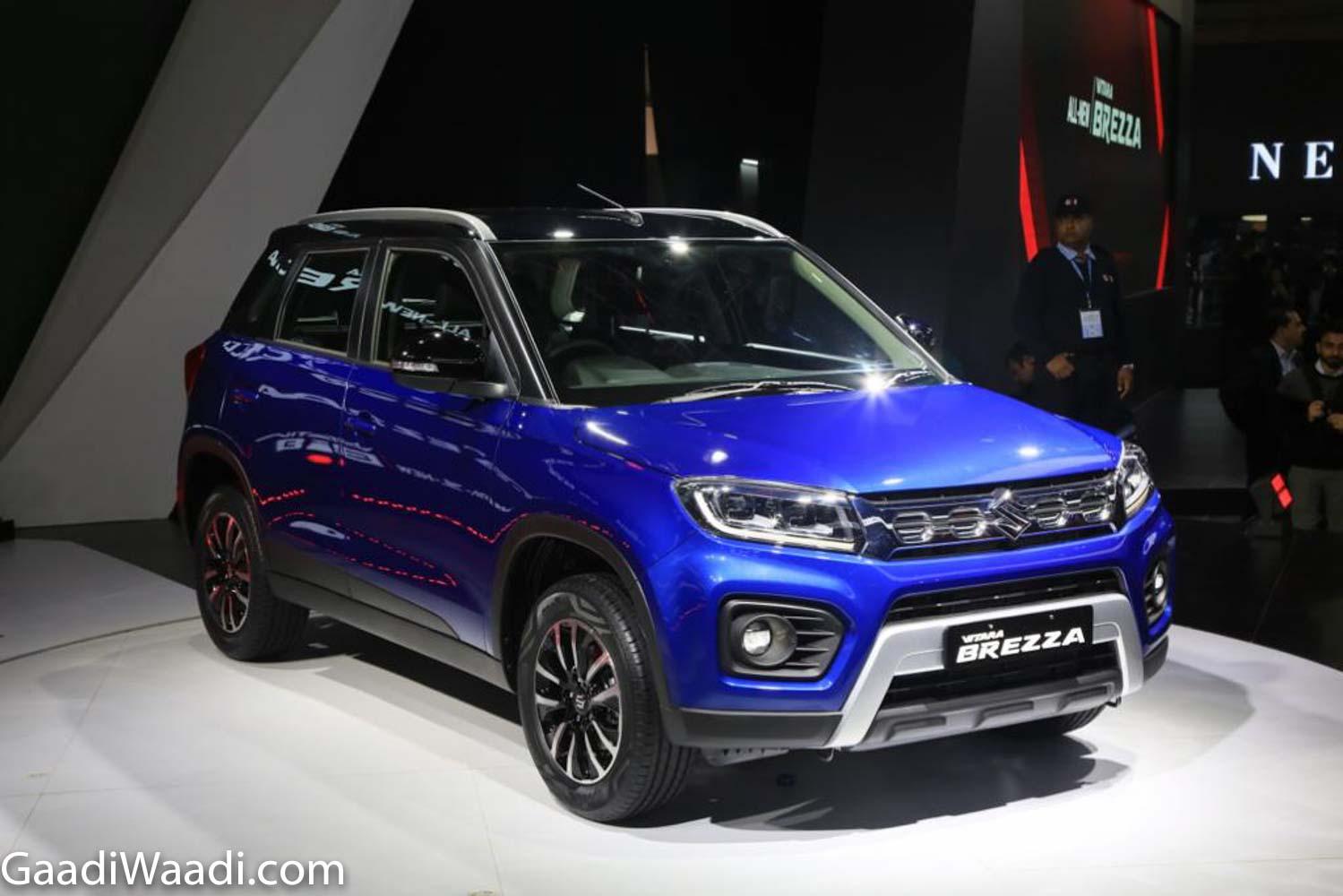 2020 - [Inde] Auto Expo - The Motor Show 2020 2020-Maruti-Suzuki-Vitara-Brezza-12