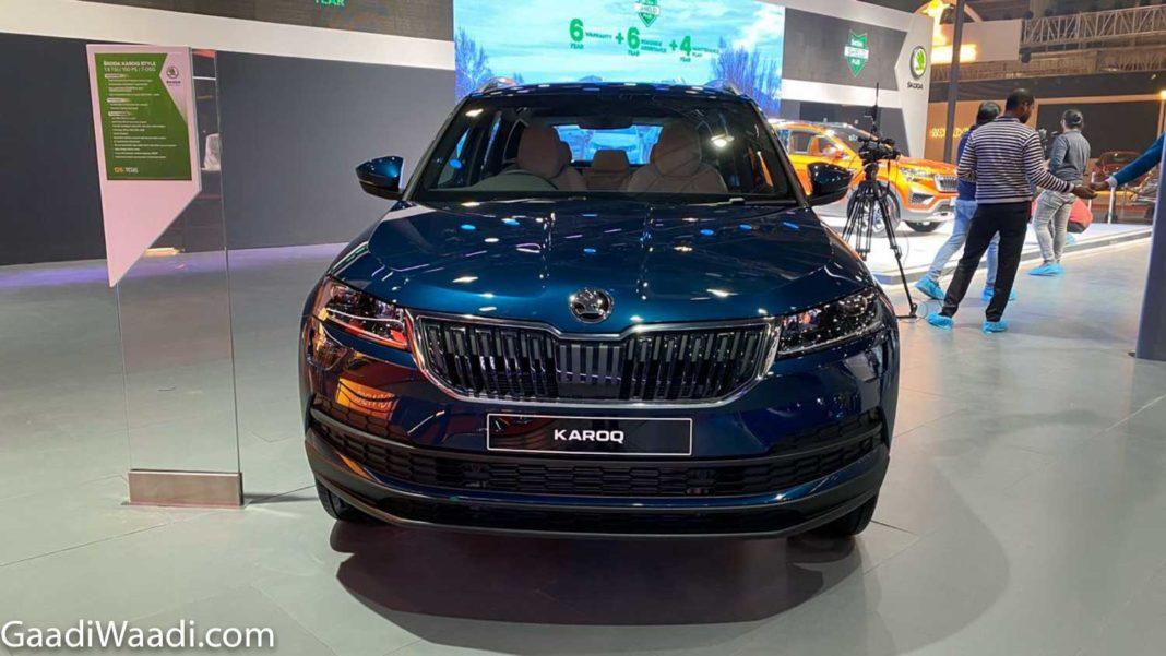 Skoda Karoq Shows Its Face At 2020 Auto Expo; India Launch ...