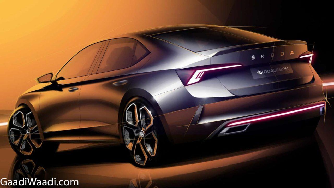 2020 Skoda Octavia RS iV Teased 1