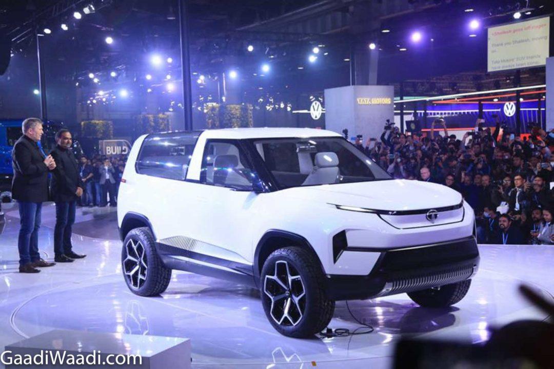 2020 Tata Sierra Auto Expo 1