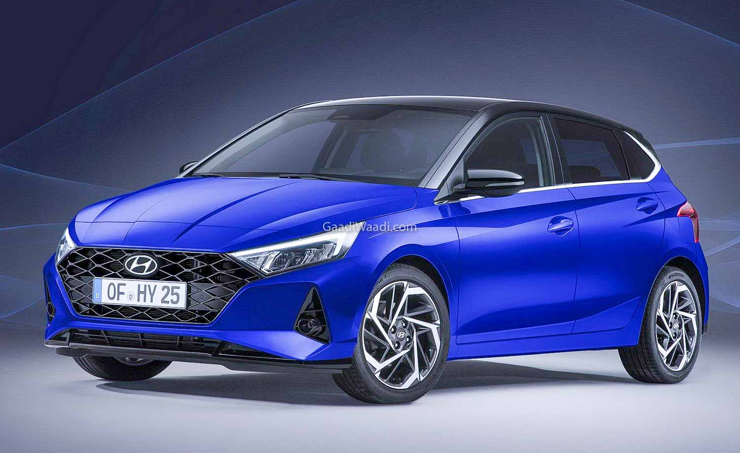 Upcoming 2020 Hyundai i20 Interior & Exterior Revealed, Debut In March - GaadiWaadi.com thumbnail