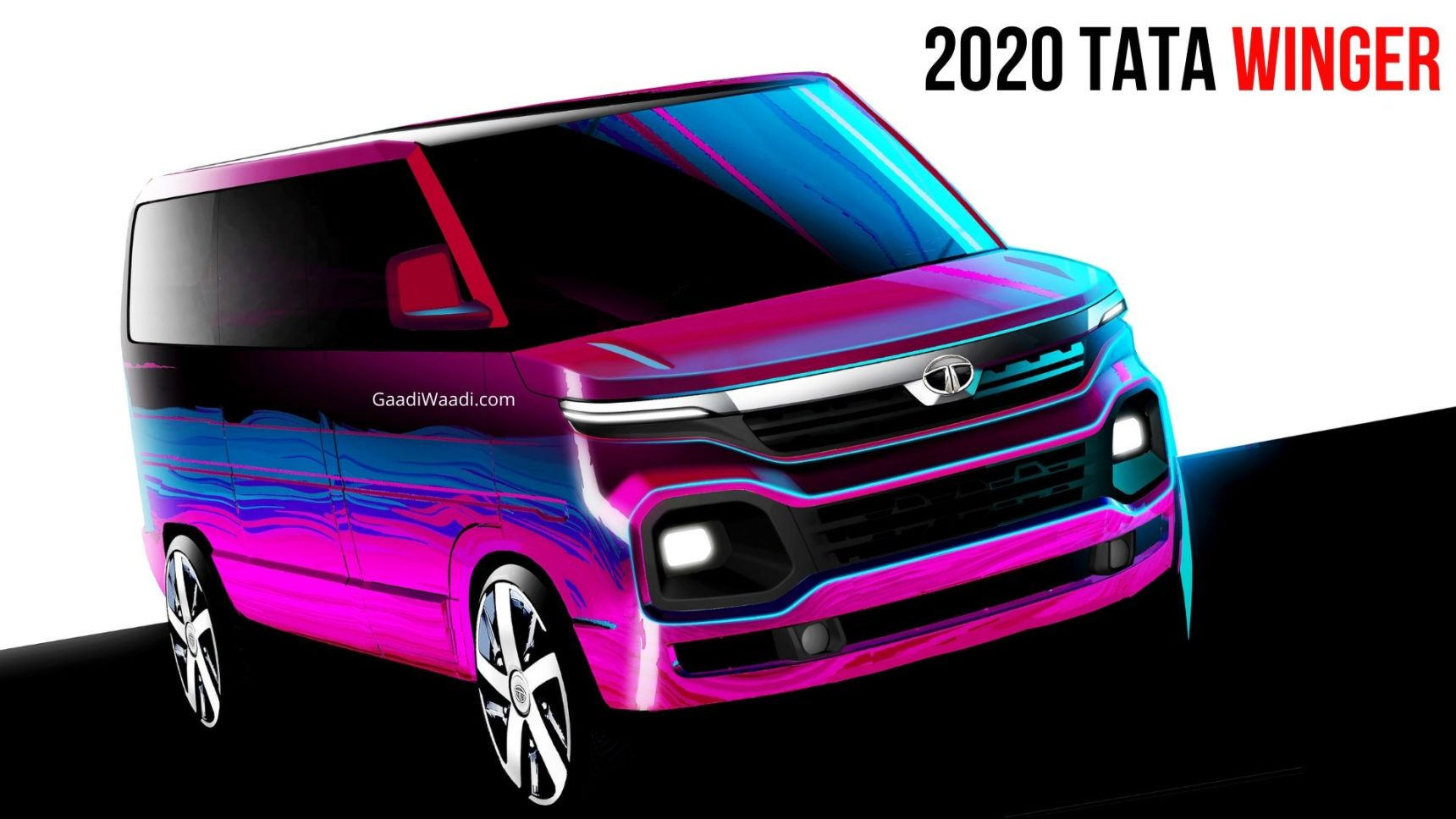 2020 Tata Winger With Same Design Language As Harrier Debuts At Auto Expo - GaadiWaadi.com thumbnail