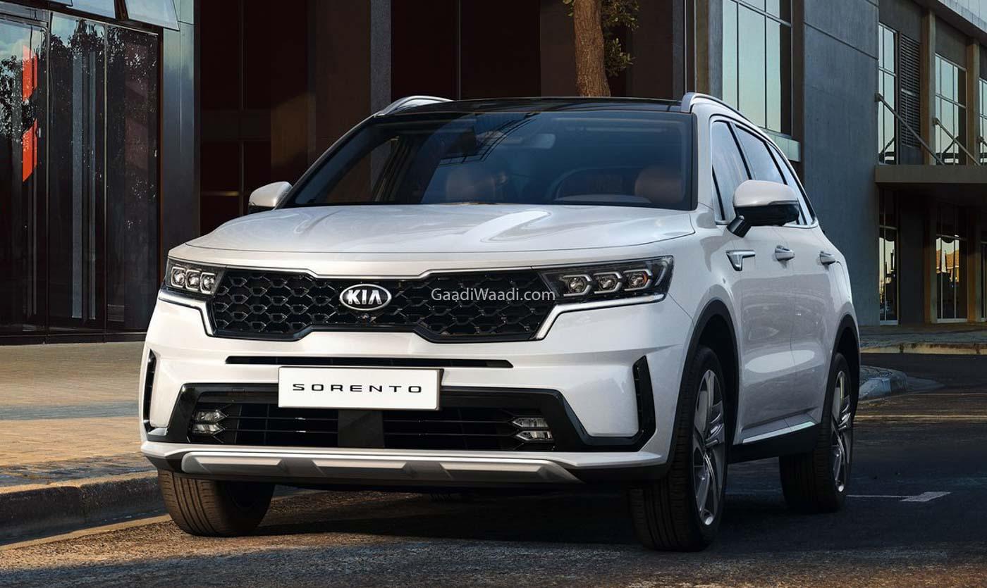 2021 Kia Sorento SUV Unveiled Officially, Likely India-Bound