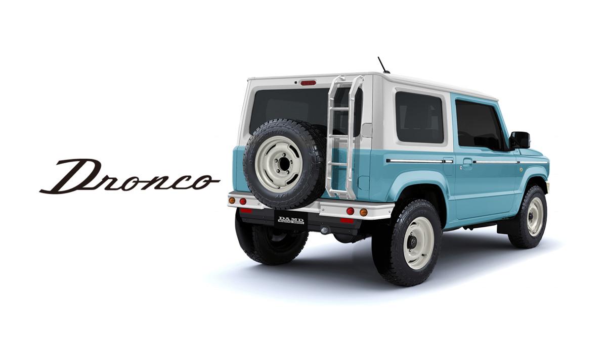 DAMD-Suzuki-Jimny-Dronco-rear