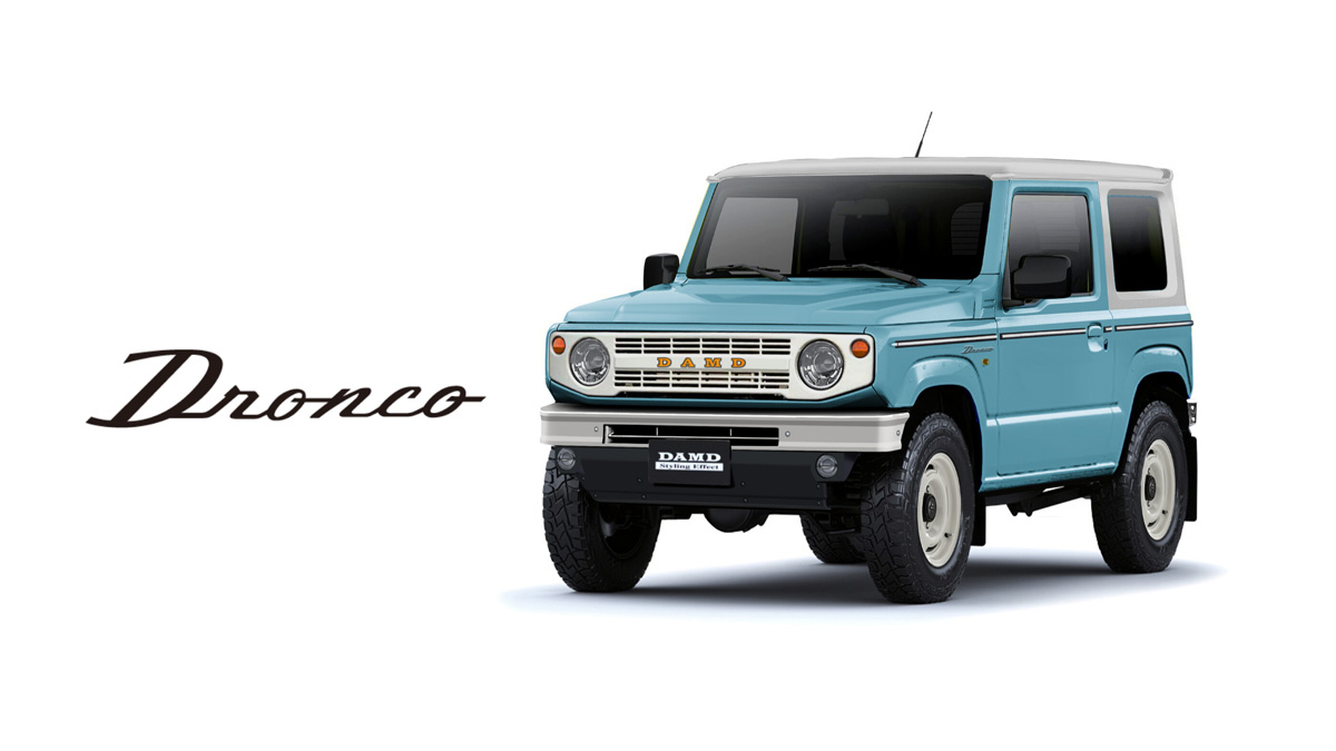 This 'Dronco' Body Kit Gives The Suzuki Jimny A Complete Makeover