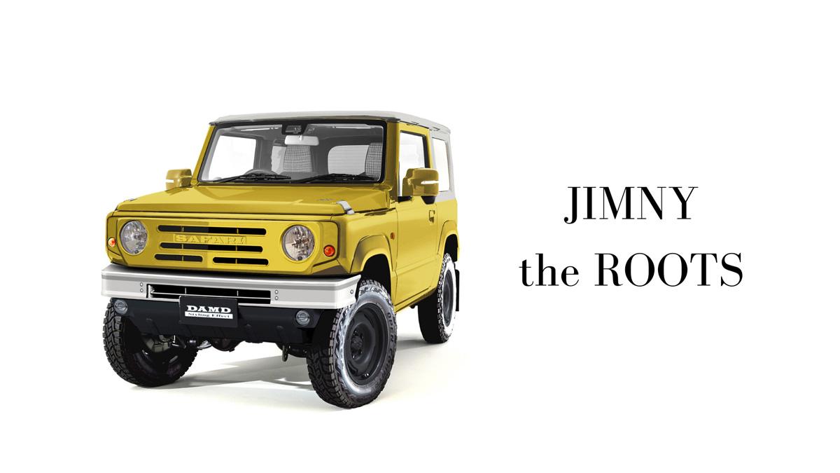 DAMD-Suzuki-Jimny-The-Roots-body