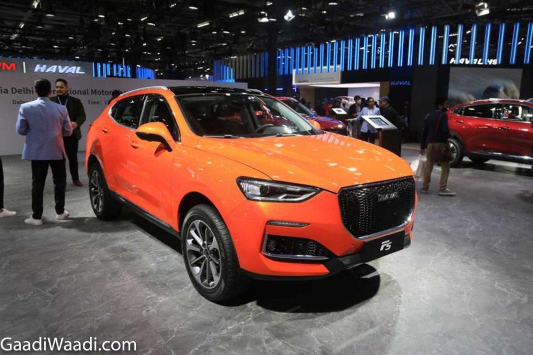 GWM Haval F5 2020 Auto Expo