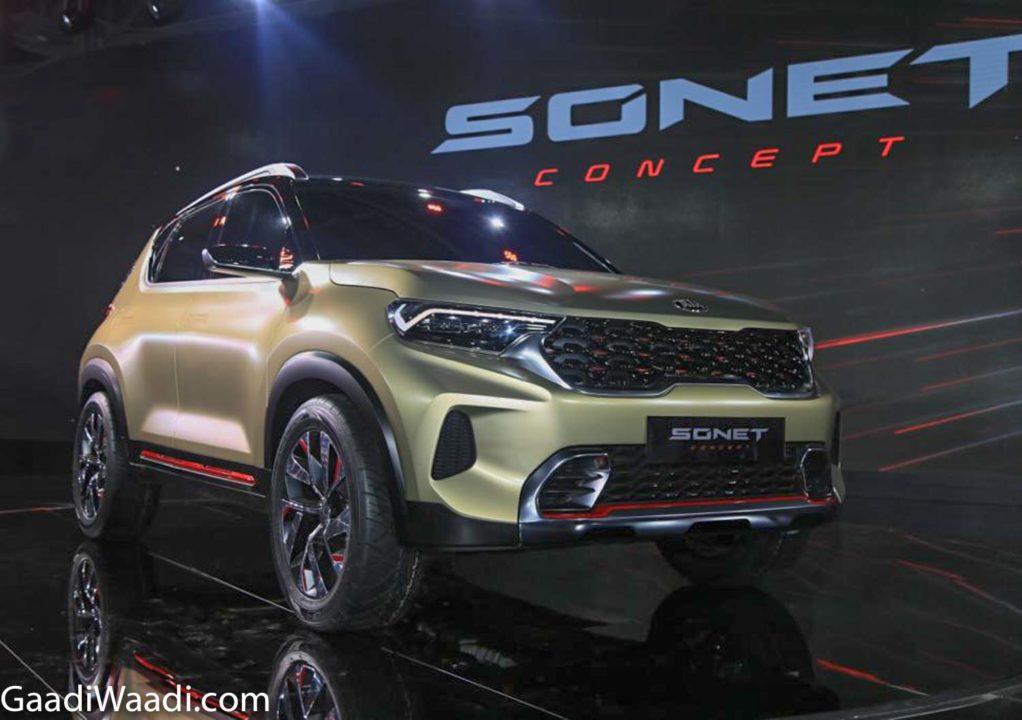 Kia Sonet Concept 2020 Auto Expo 12