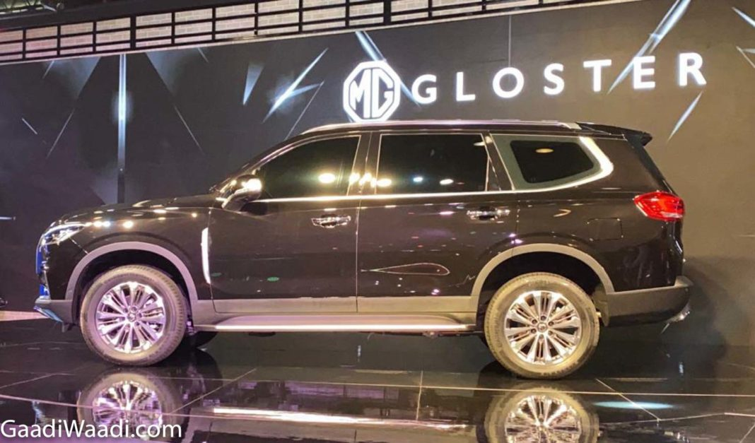 MG Gloster 2020 Auto Expo 1