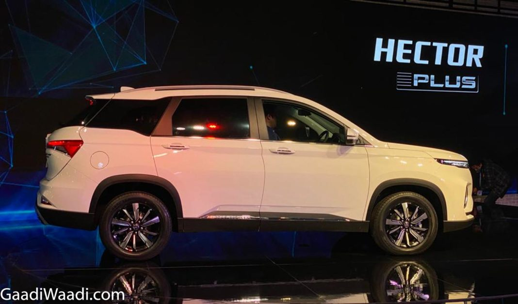 MG Hector Plus 2