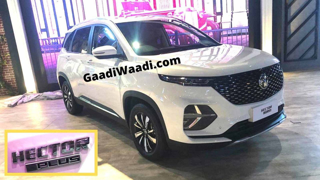 MG Hector plus 6 seater-1