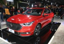 MG RC6 SEDAN 2020 AUTO EXPO 1