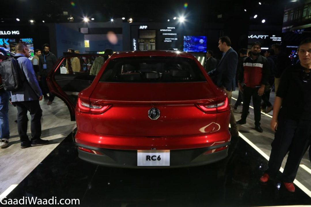 MG RC6 SEDAN 2020 AUTO EXPO