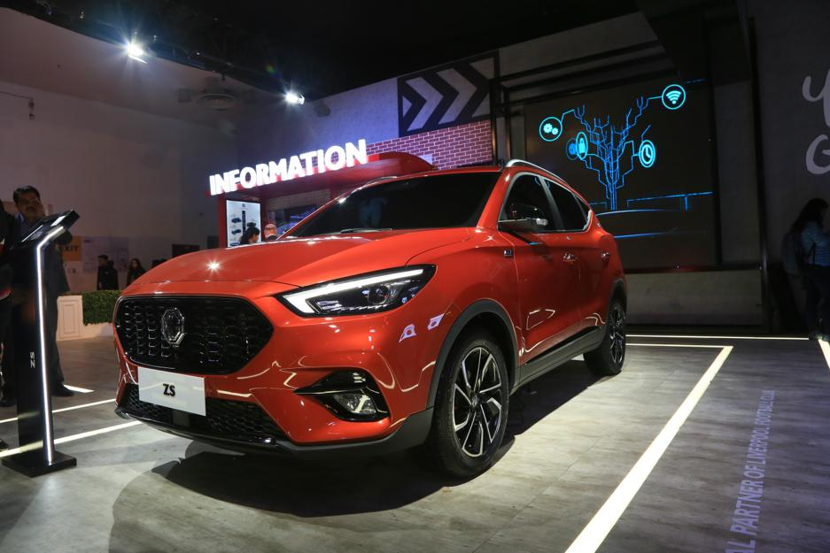 MG ZS 2020 Auto Expo 4