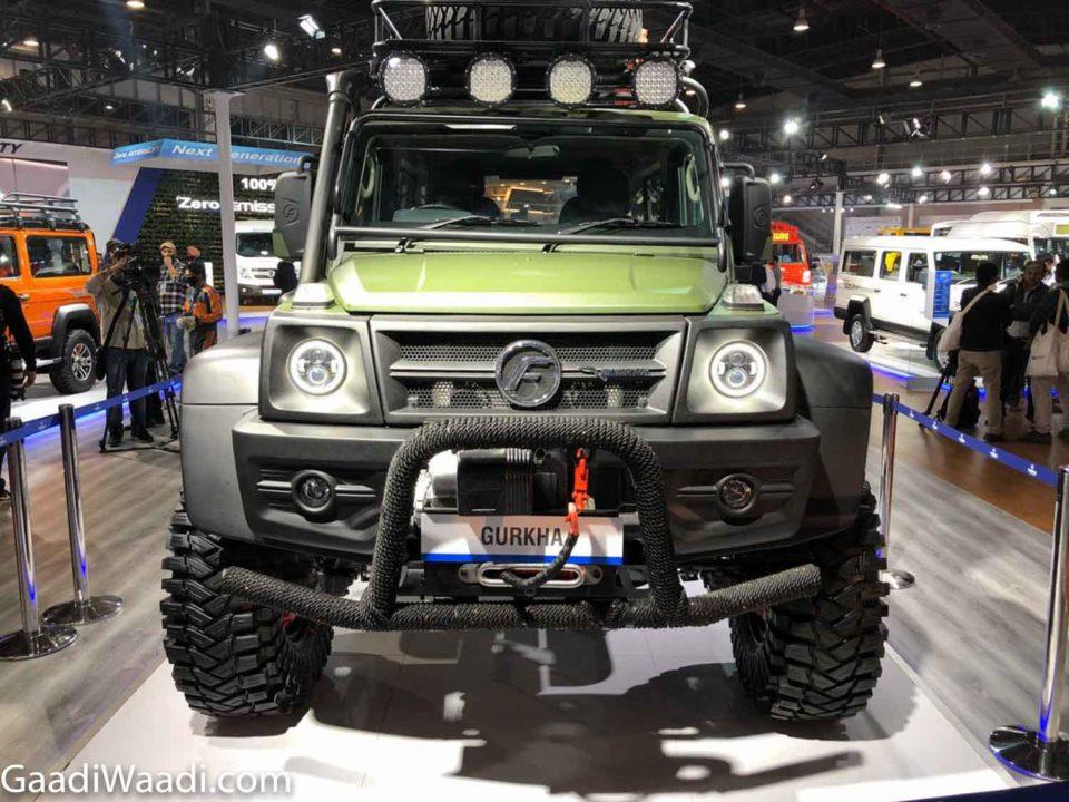 Modified Force Gurkha 1
