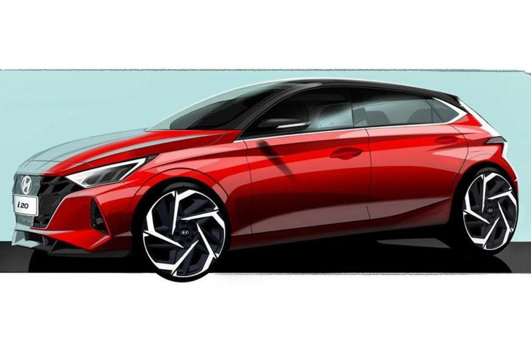 Next Generation Hyundai i20 Teased 1