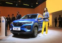 Renault City K-ZE (Kwid Electric) Auto Expo 2
