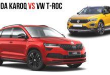 Skoda Karoq vs VW T-Roc