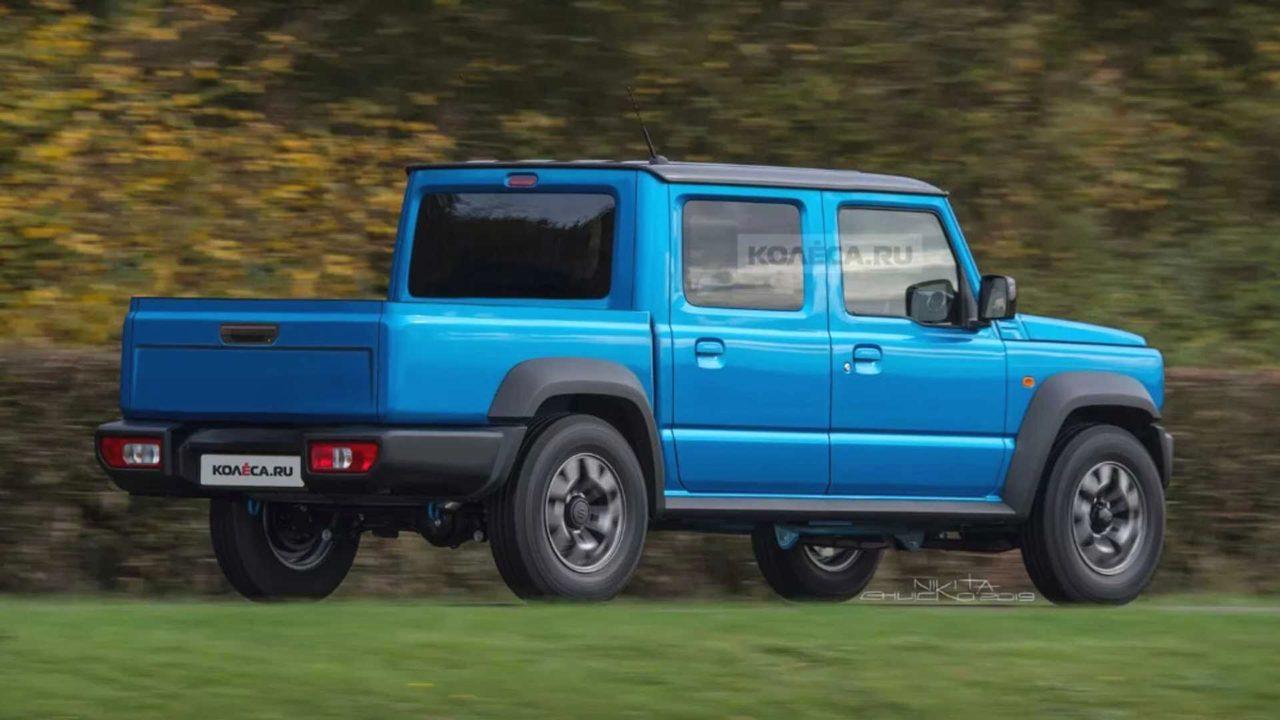 Suzuki Jimny Pickup Rendering 1