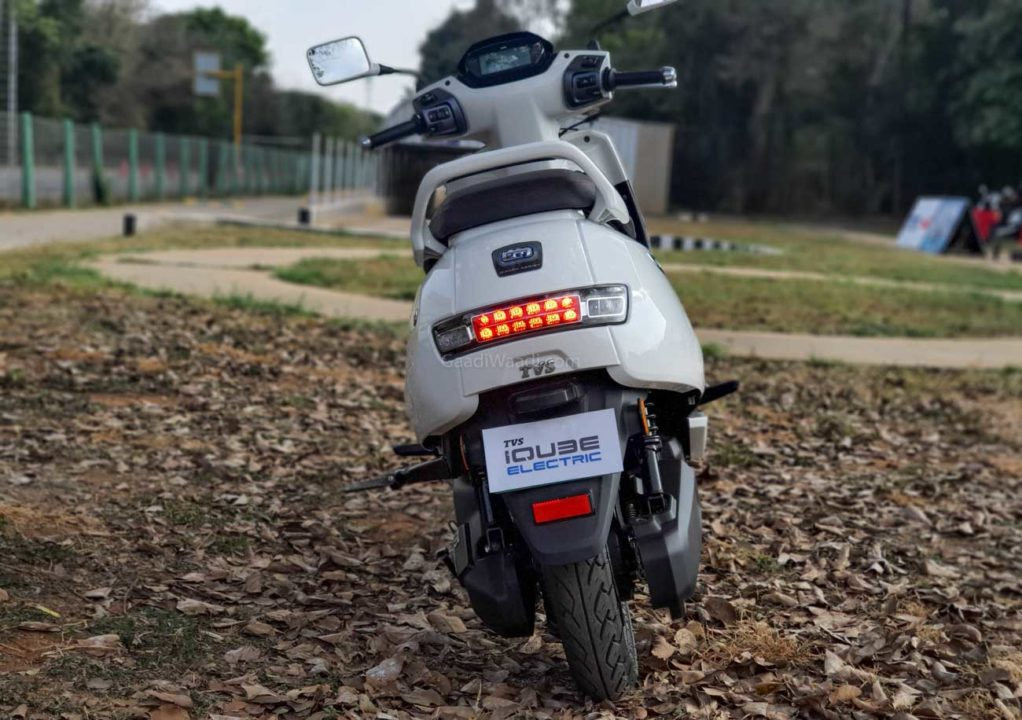 TVS iQube Electric Test Ride Review -11