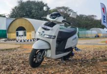 TVS iQube Electric Test Ride Review -17