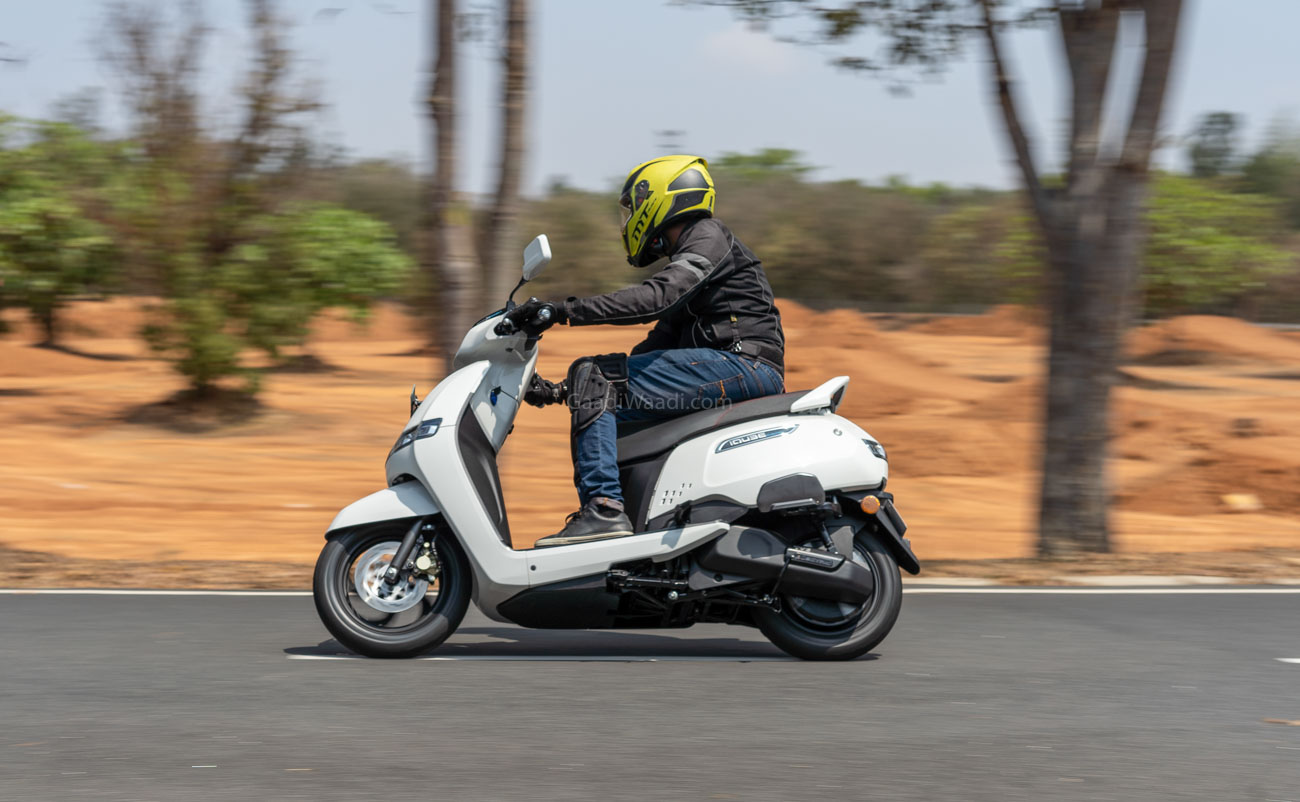 TVS iQube Electric Test Ride Review -4