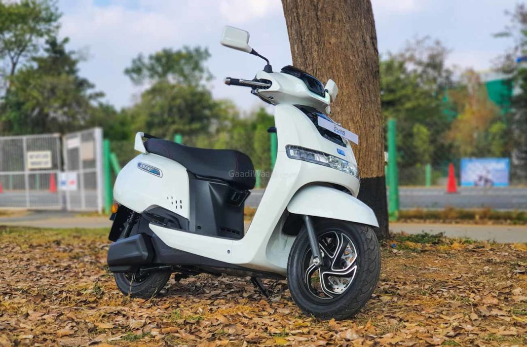TVS iQube Electric Test Ride Review -6
