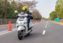 TVS iQube Electric Test Ride Review -9