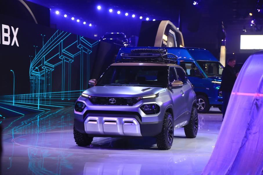 Tata HBX 2020 Auto Expo 1