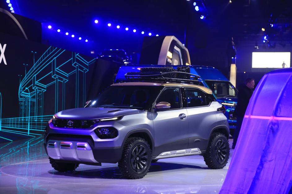 Tata HBX Debuts In India Previewing Micro SUV, Launch This Year