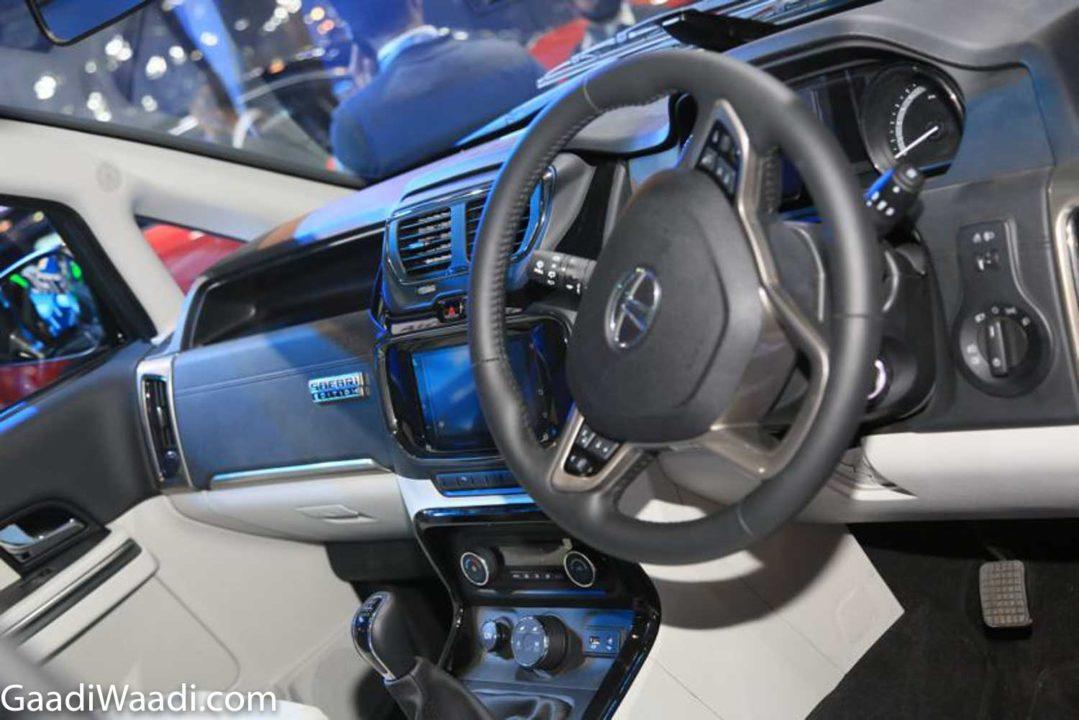 Tata Hexa Safari Edition Interior 2