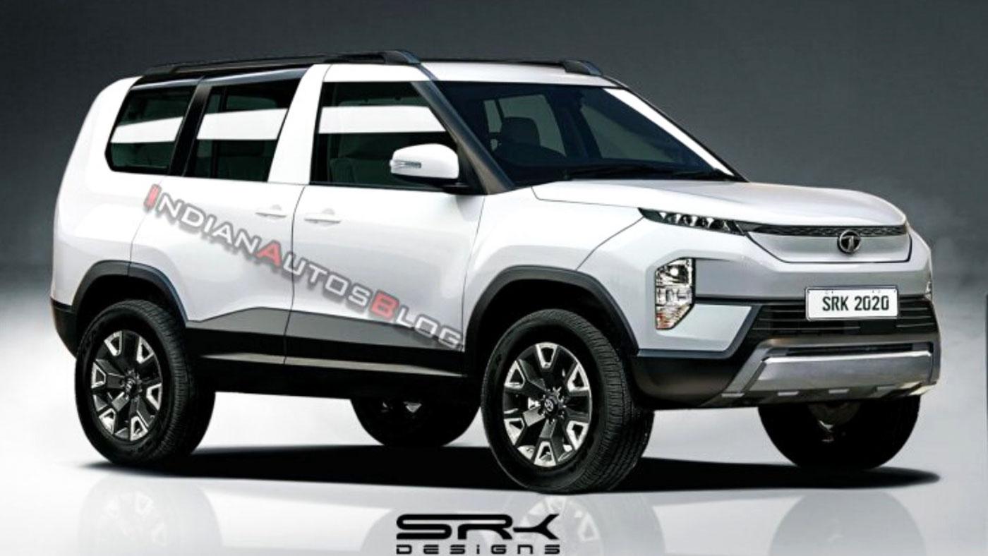 Tata Sierra EV Production Version Imagined with Sliding Rear Doors