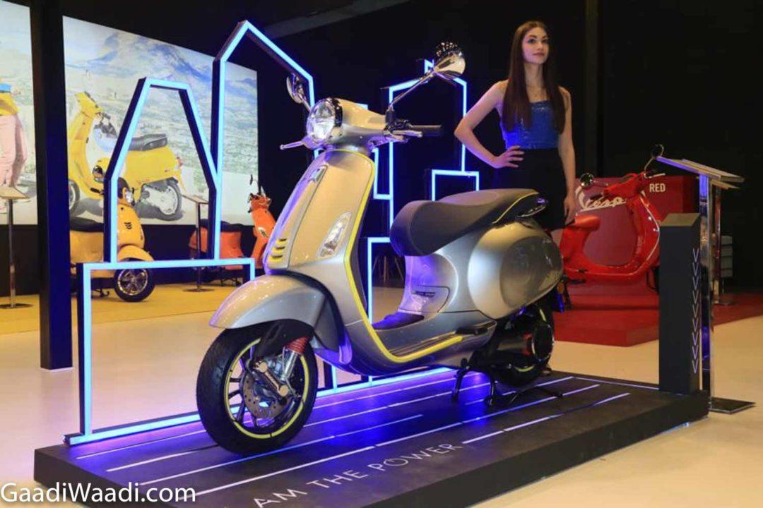 Vespa Elettrica 2020 Auto Expo 3