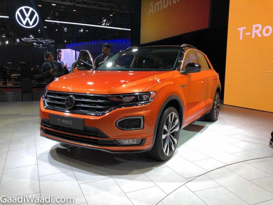 Volkswagen T-Roc 2020 Auto Expo 3