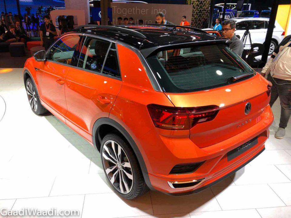Volkswagen T-Roc 2020 Auto Expo