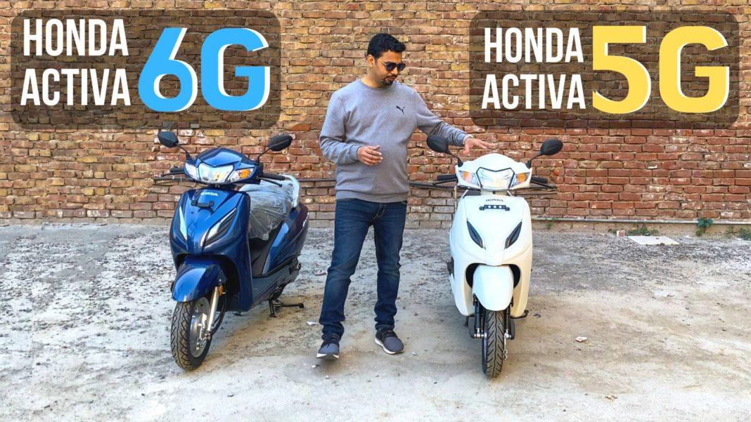 activa 5g vs 6g
