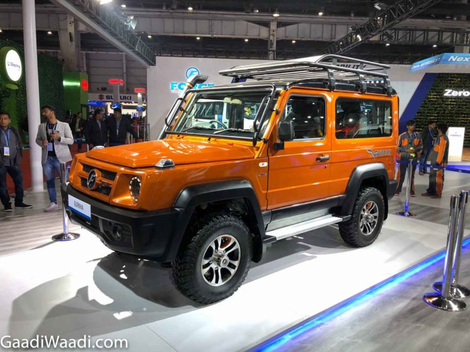 Heavily Updated 2020 Force Gurkha Bs6 Thar Rival Breaks