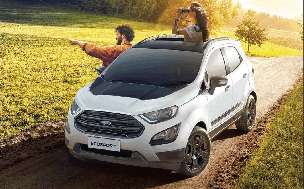 Ford Jan 2020 Sales Down By 36 6 In India Ecosport Endeavour Figo