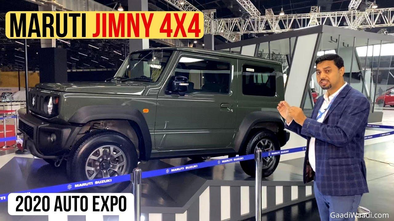 Maruti Showcases Jimny 4×4 SUV In India – Explained In Walkaround Video