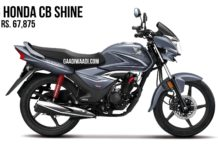honda cb shine 125 bs6