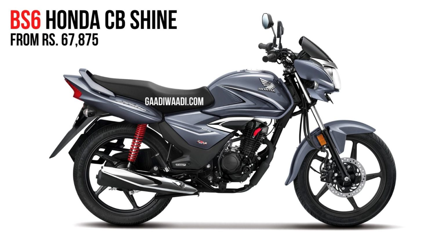 2020 Honda Shine BS6 Launched In India; Priced From Rs. 67,857 thumbnail