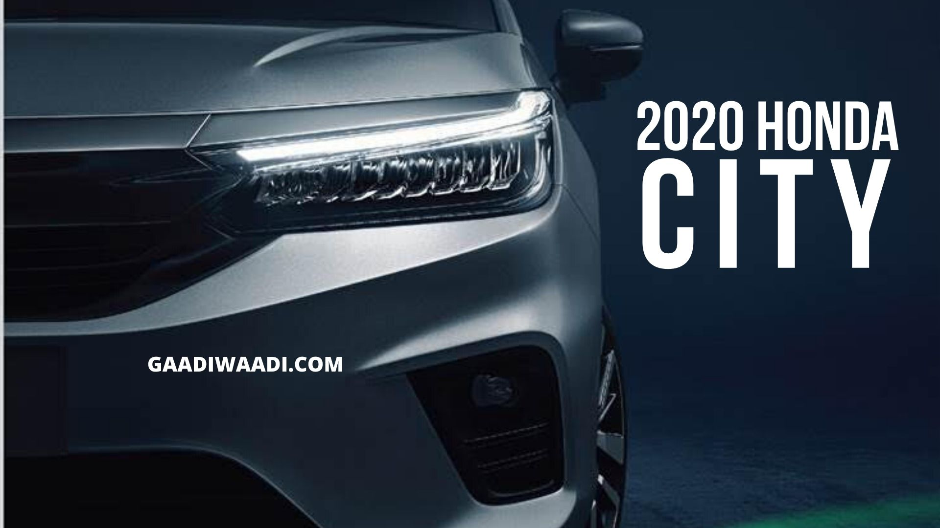 All New 2020 Honda City Officially Teased Launch In April