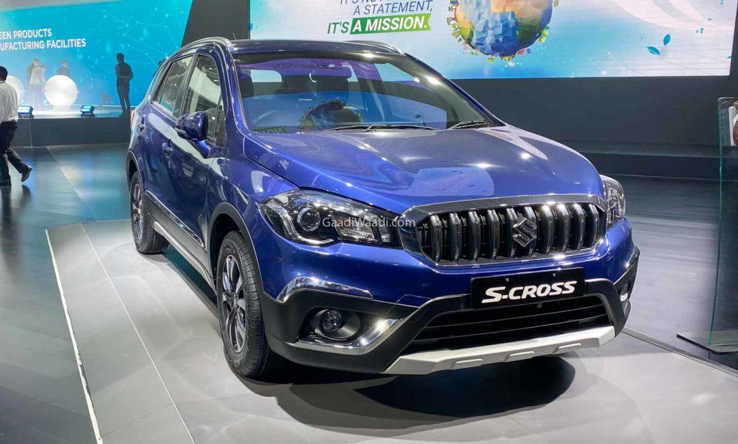 maruti s-cross petrol 1.5L AT-1