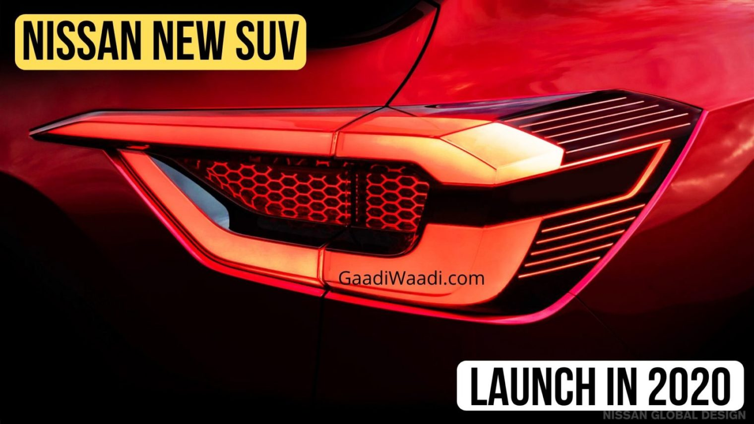 Upcoming Nissan Compact SUV Teased Again, Launch In Mid 2020