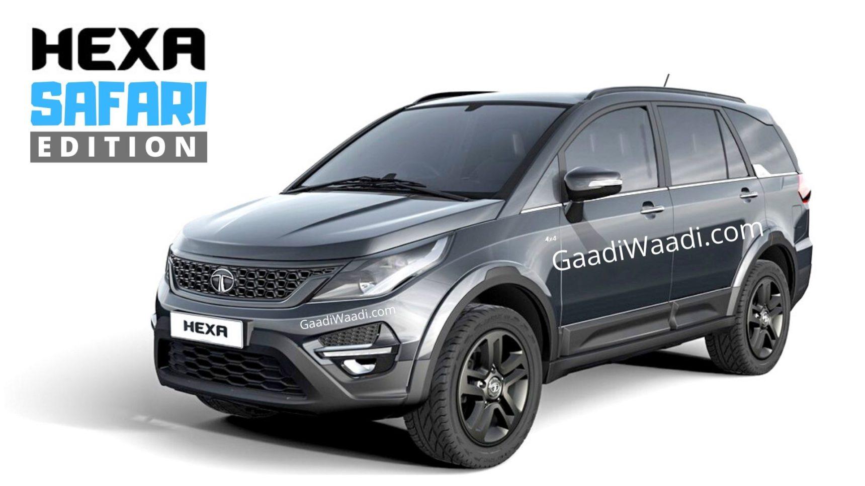 Tata Motors To Sell 4×4 Variants Of All Its Future SUVs With Safari Suffix