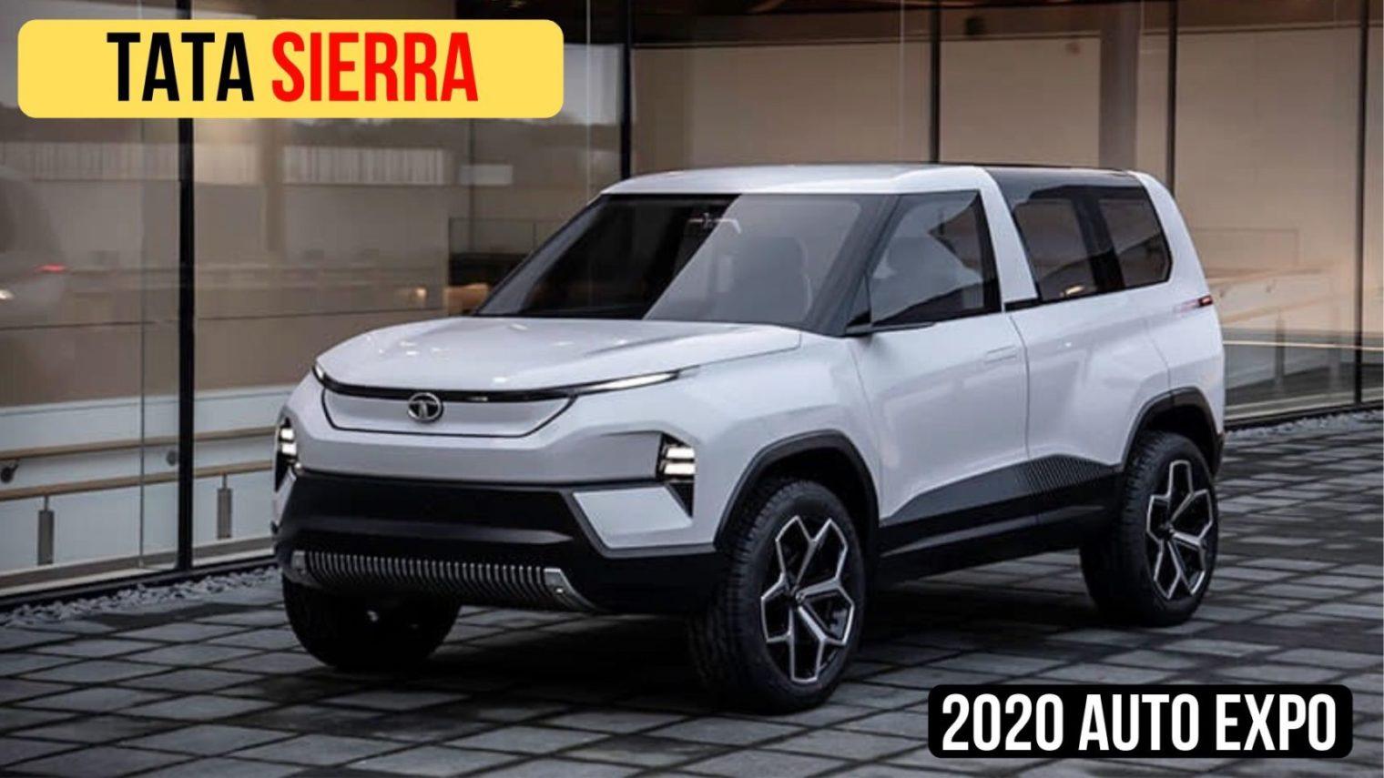 2021 Tata Sierra To Get Petrol & Diesel Engines, Hints Pratap Bose