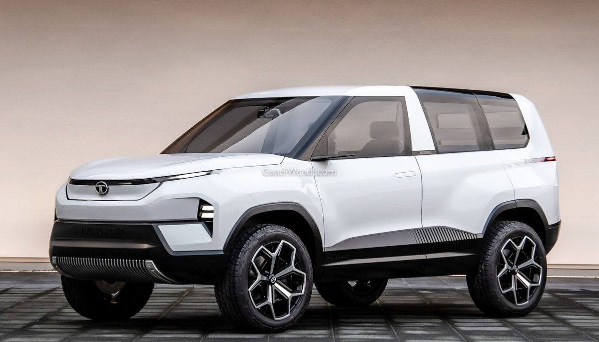 Trying To Bring Tata Sierra EV Concept To Production, Says Pratap Bose