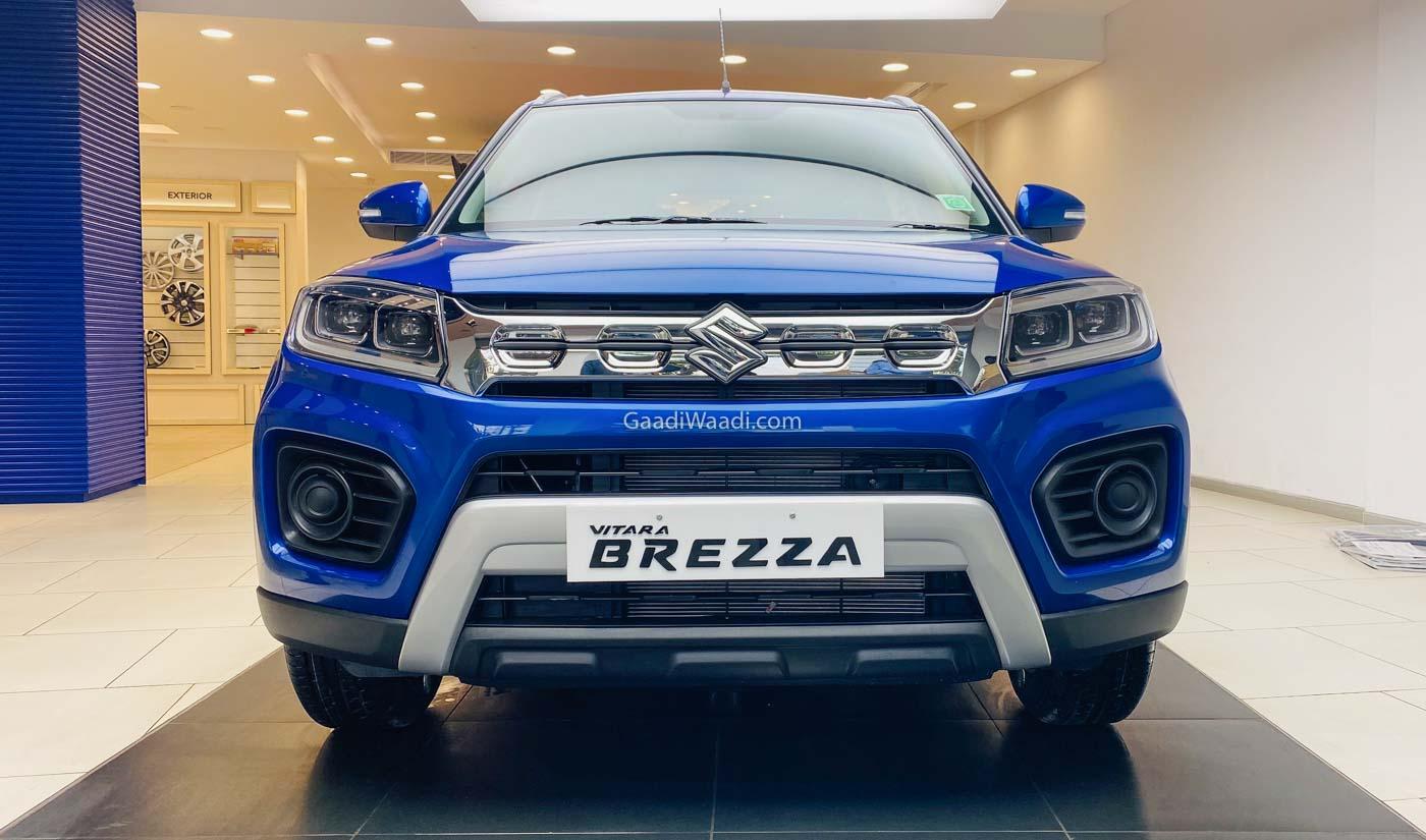 2020 Maruti Vitara Brezza Facelift Priced From Rs. 7.35 ...